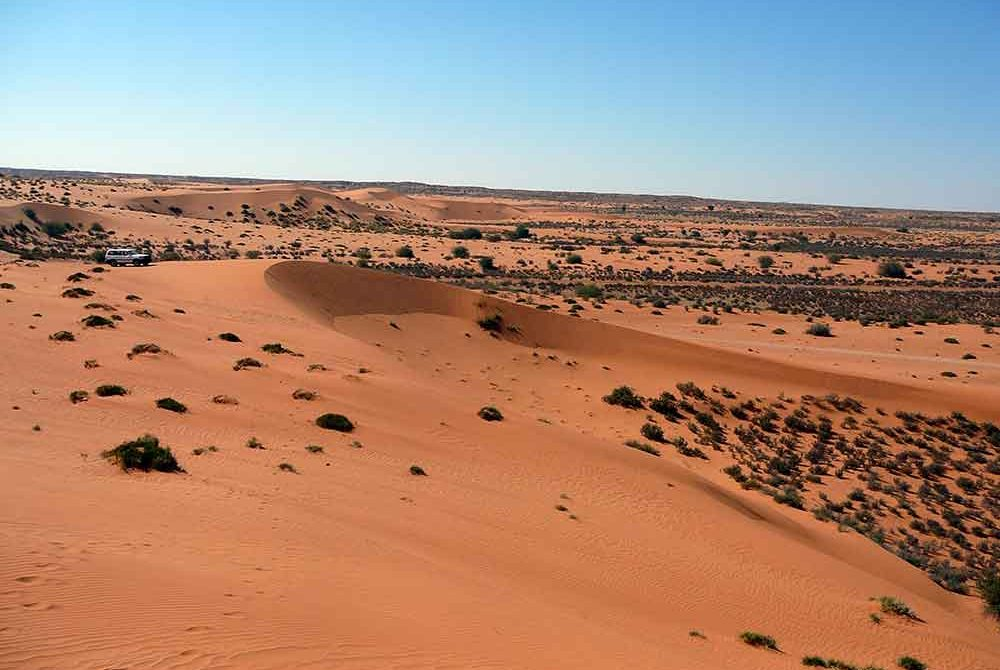 ประวัติศาสตร์ของทะเลทราย Kalahari