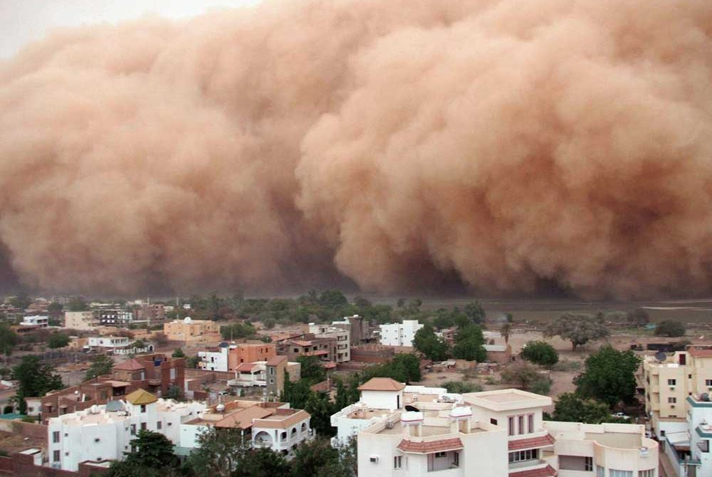 พายุทะเลทรายภัยอันตรายและร้ายแรง