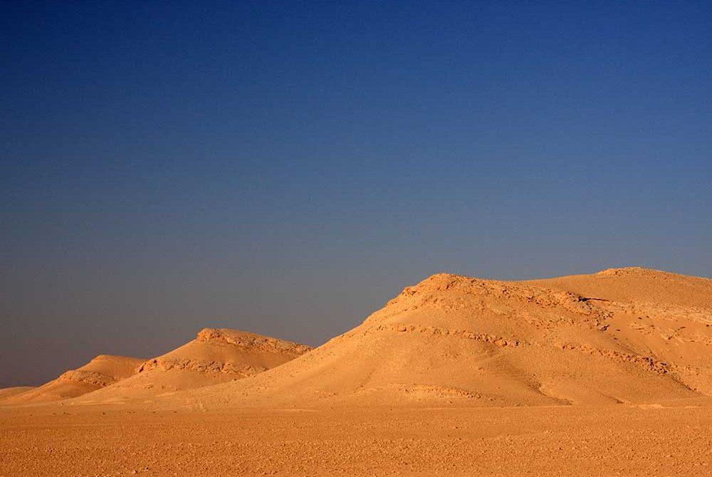 ทะเลทรายซีเรีย ทะเลทรายที่ราบสูง