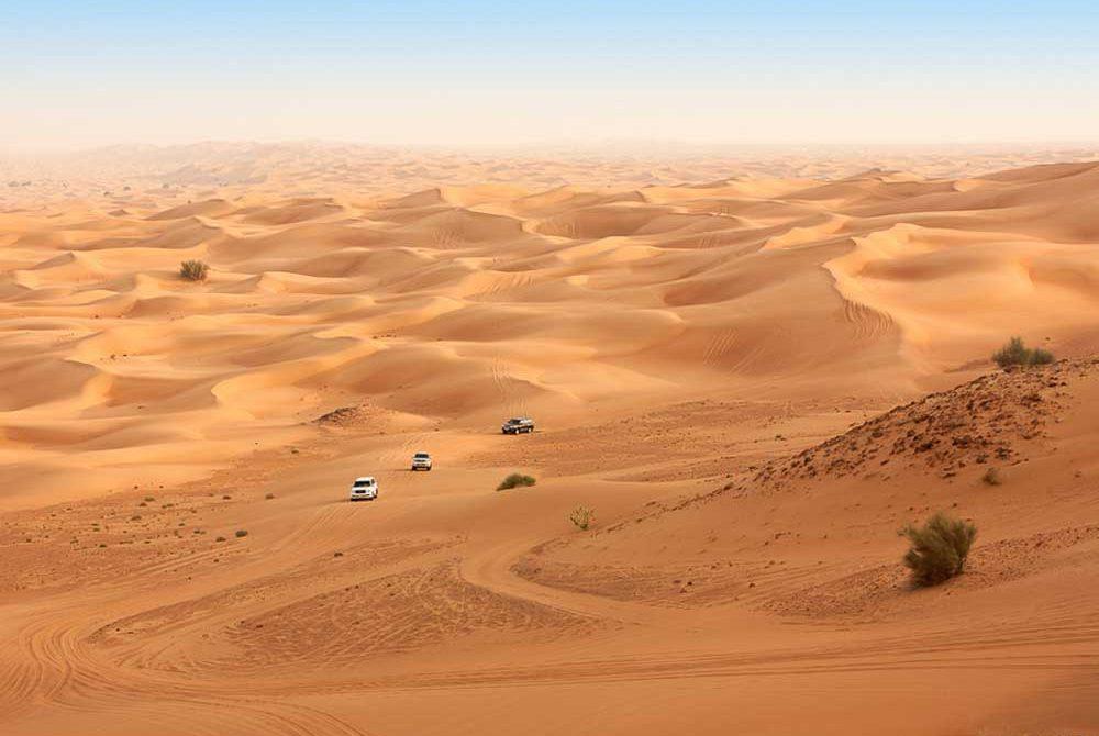 ผจญภัยในทะเลทรายอาหรับ